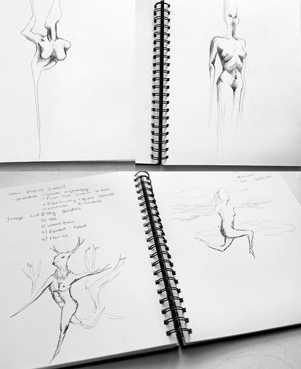 photomanipulation sketch