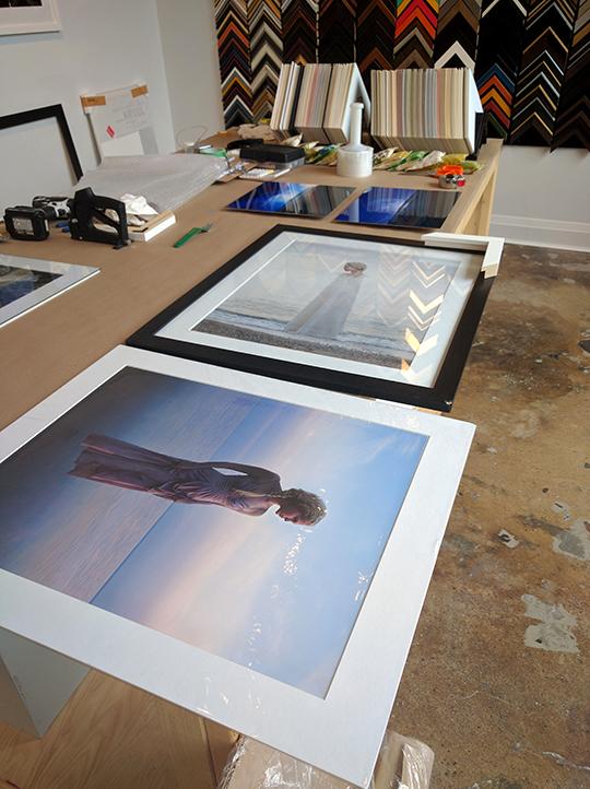 framing behind the scenes